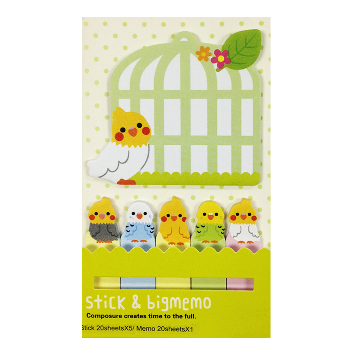 Wrapables Bookmark and Memo Sticky Notes