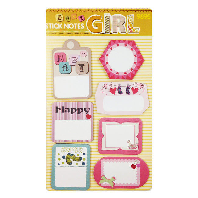 Wrapables Trendy Sticky Notes