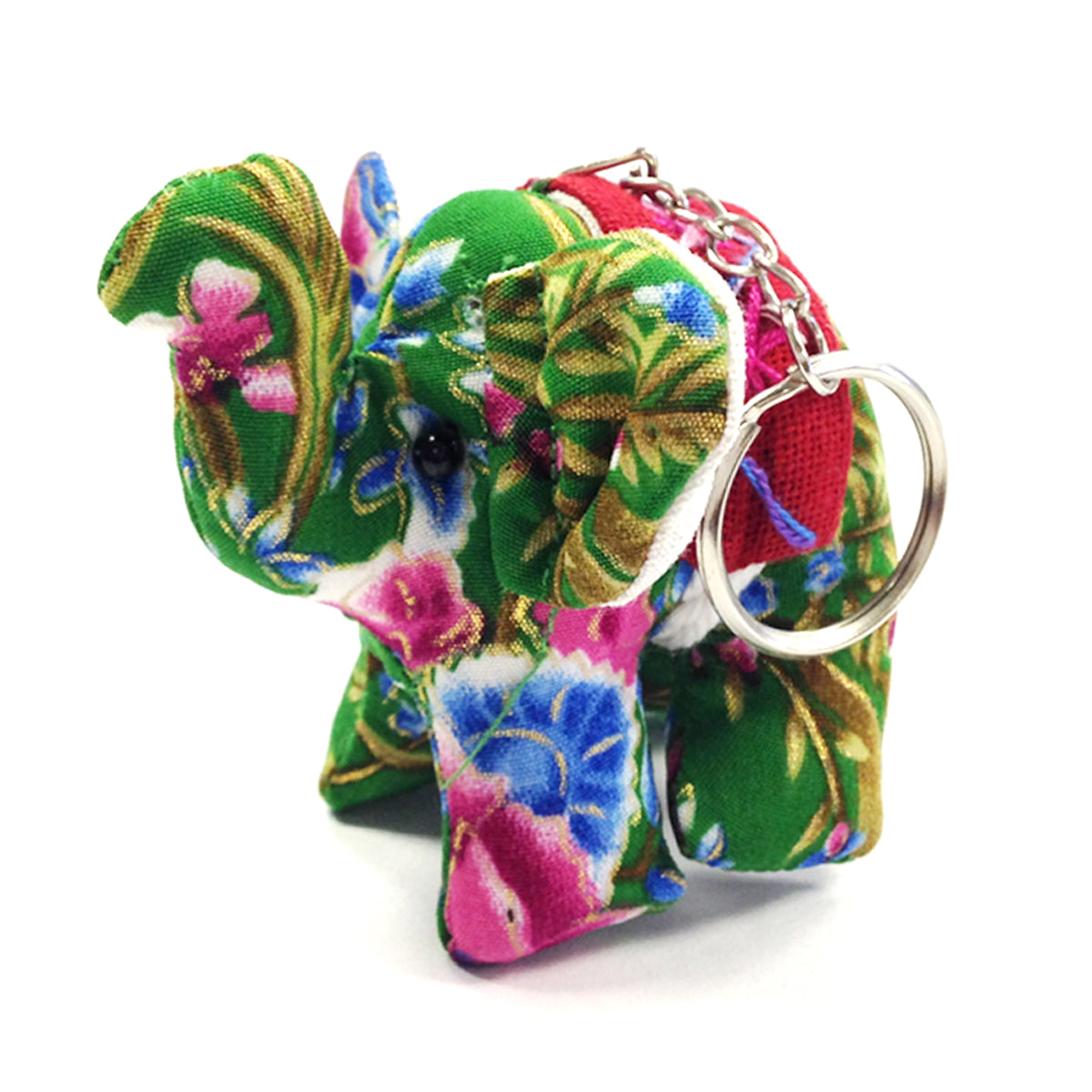 Wrapables Handmade Thai Elephant Keychain