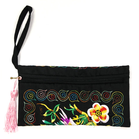 Vibrant Cosmetic Bag / Mini Clutch