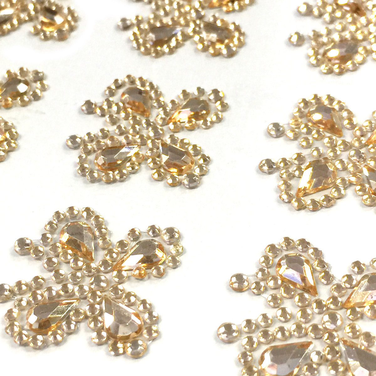 Wrapables Butterfly Crystal Adhesive Rhinestones Gems