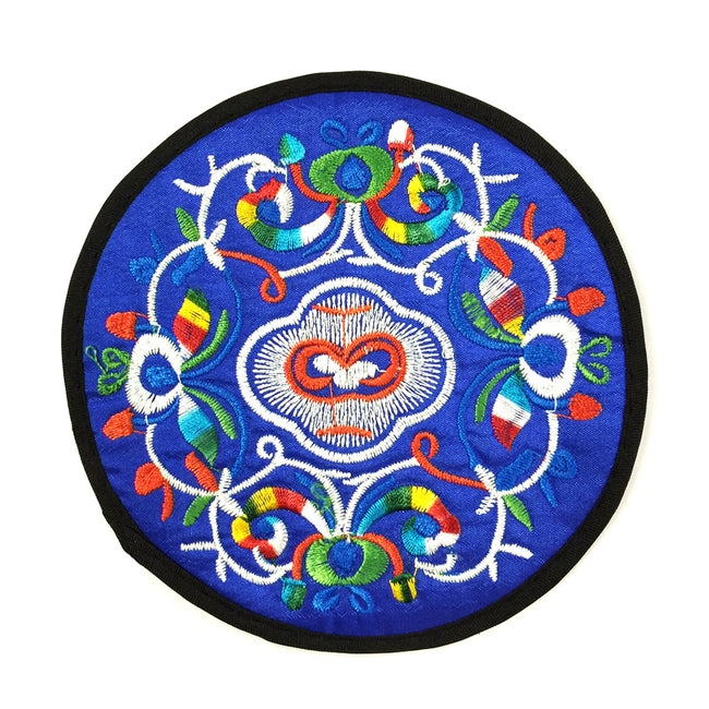 Wrapables Ethnic Embroidered Coasters Set of 6