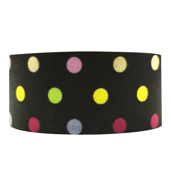 Wrapables Dotted Washi Masking Tape, Glo-Dots