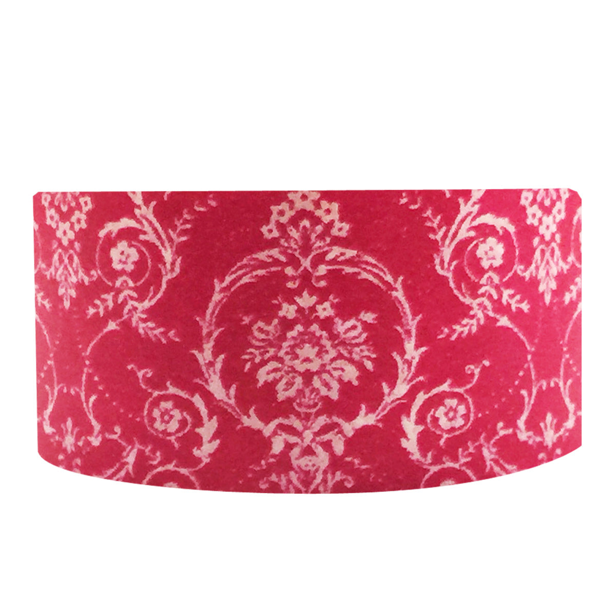 Wrapables Damask Washi Masking Tape, Royal Red