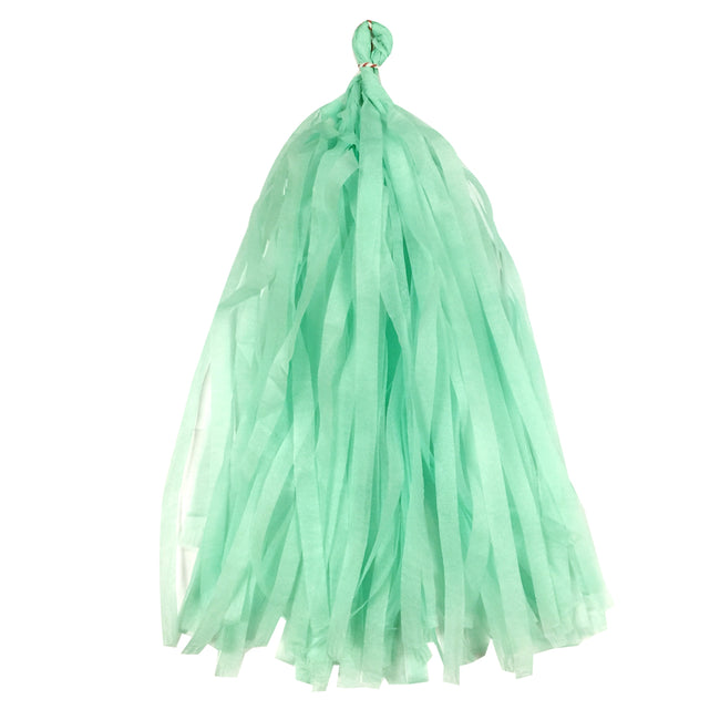 Wrapables 14 Inch Tissue Paper Tassels Party Decorations