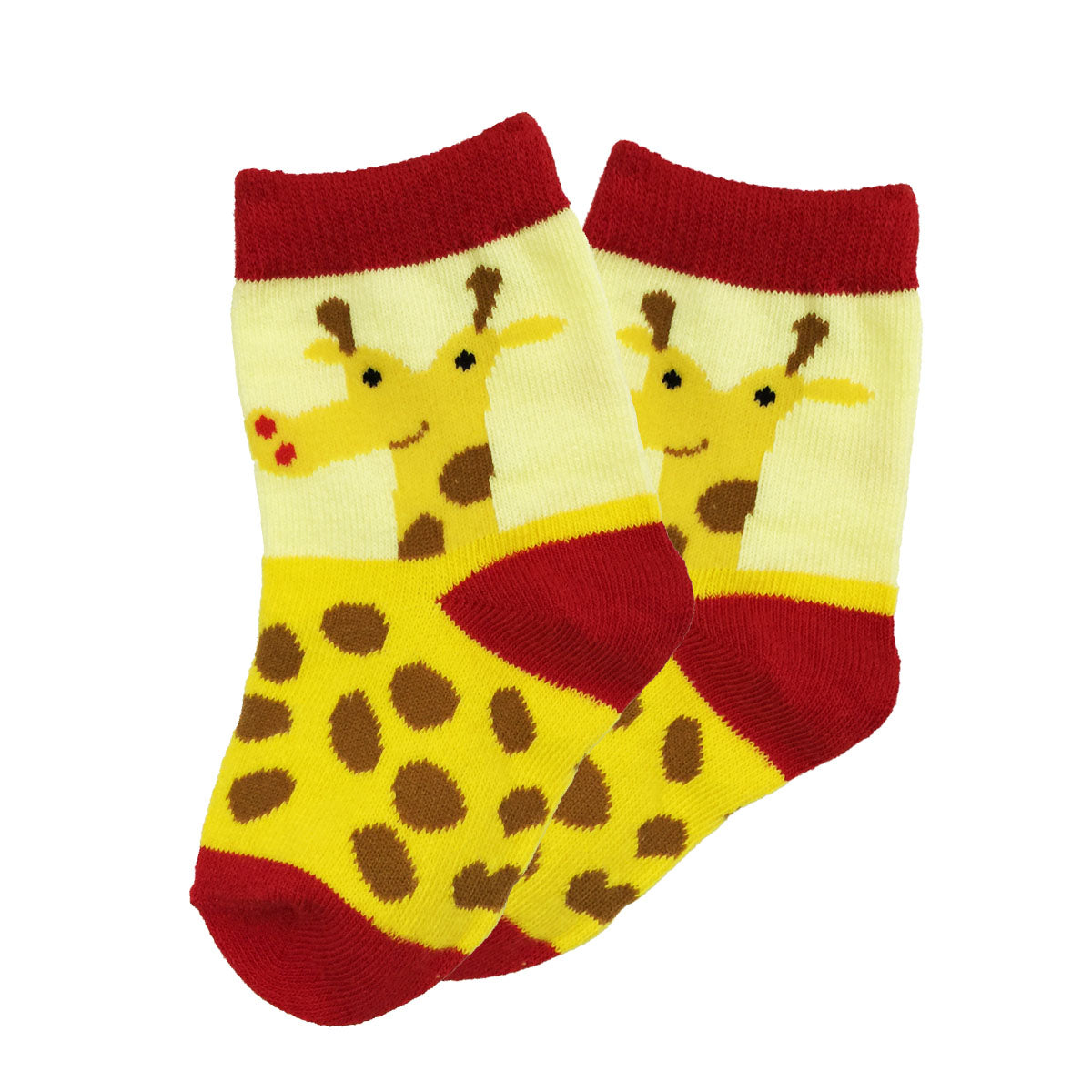 Wrapables Funny Zoo Animal Socks for Toddlers (Set of 3)