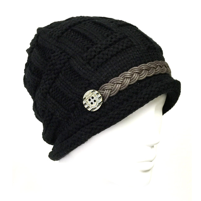 Wrapables Knitted Slouched Ski Cap