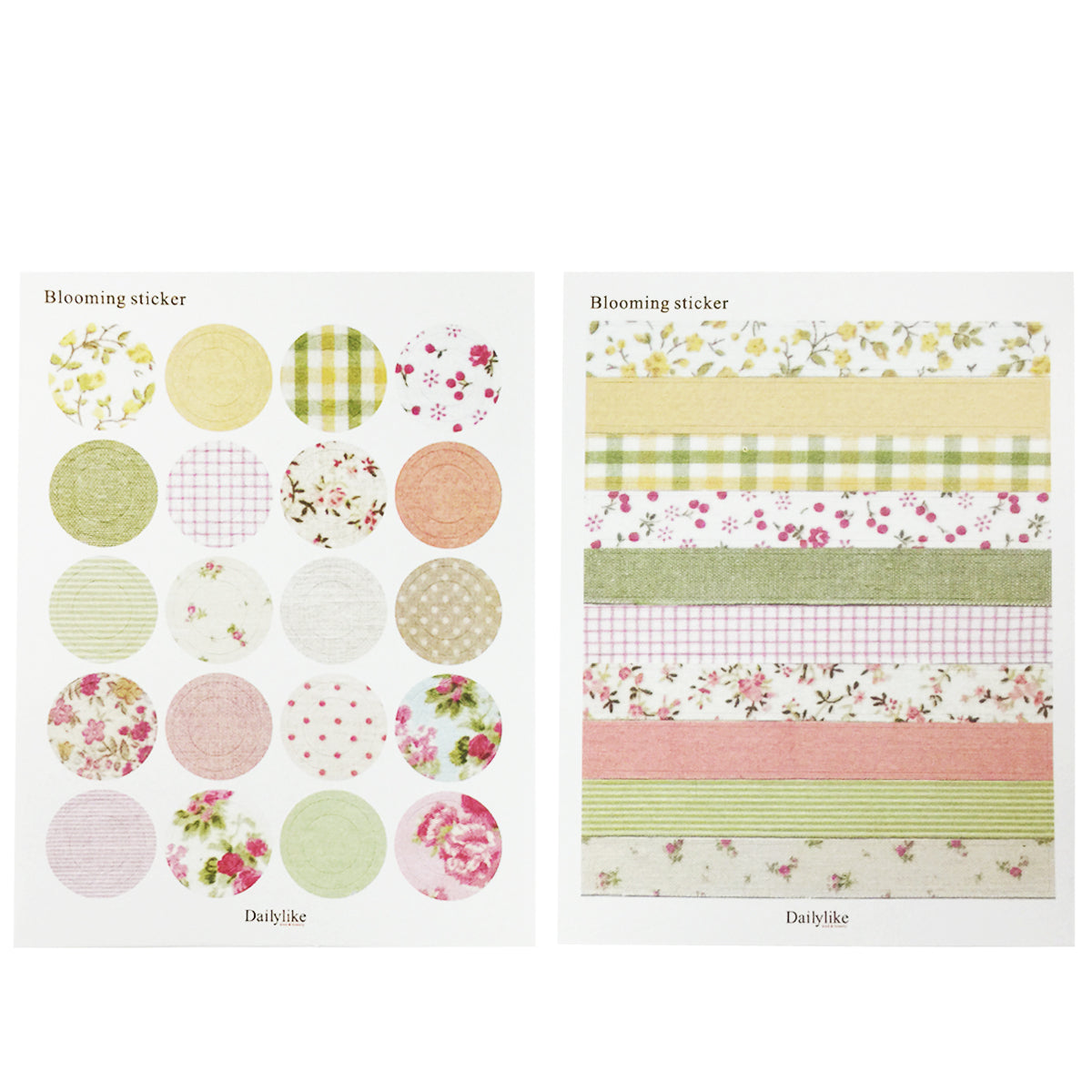 Wrapables Decorative Countryside Pattern Sticker Set