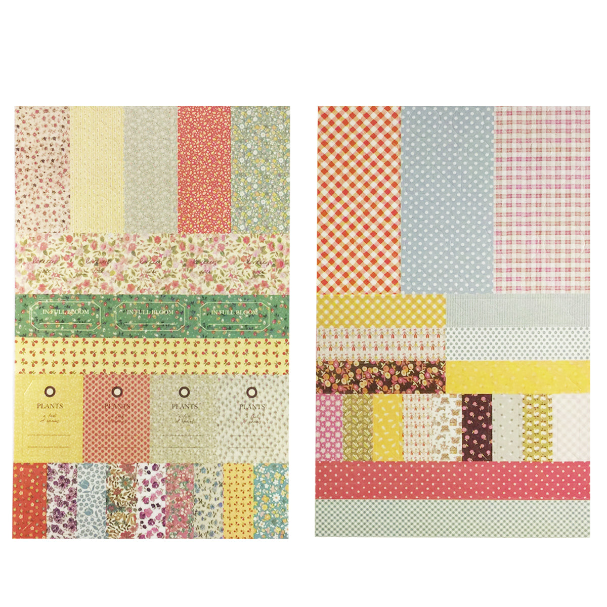 Wrapables Decorative Sticker Set for Stationery in Various Shapes