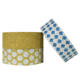 Wrapables Dots and Checkers Washi Masking Tape (set of 3)
