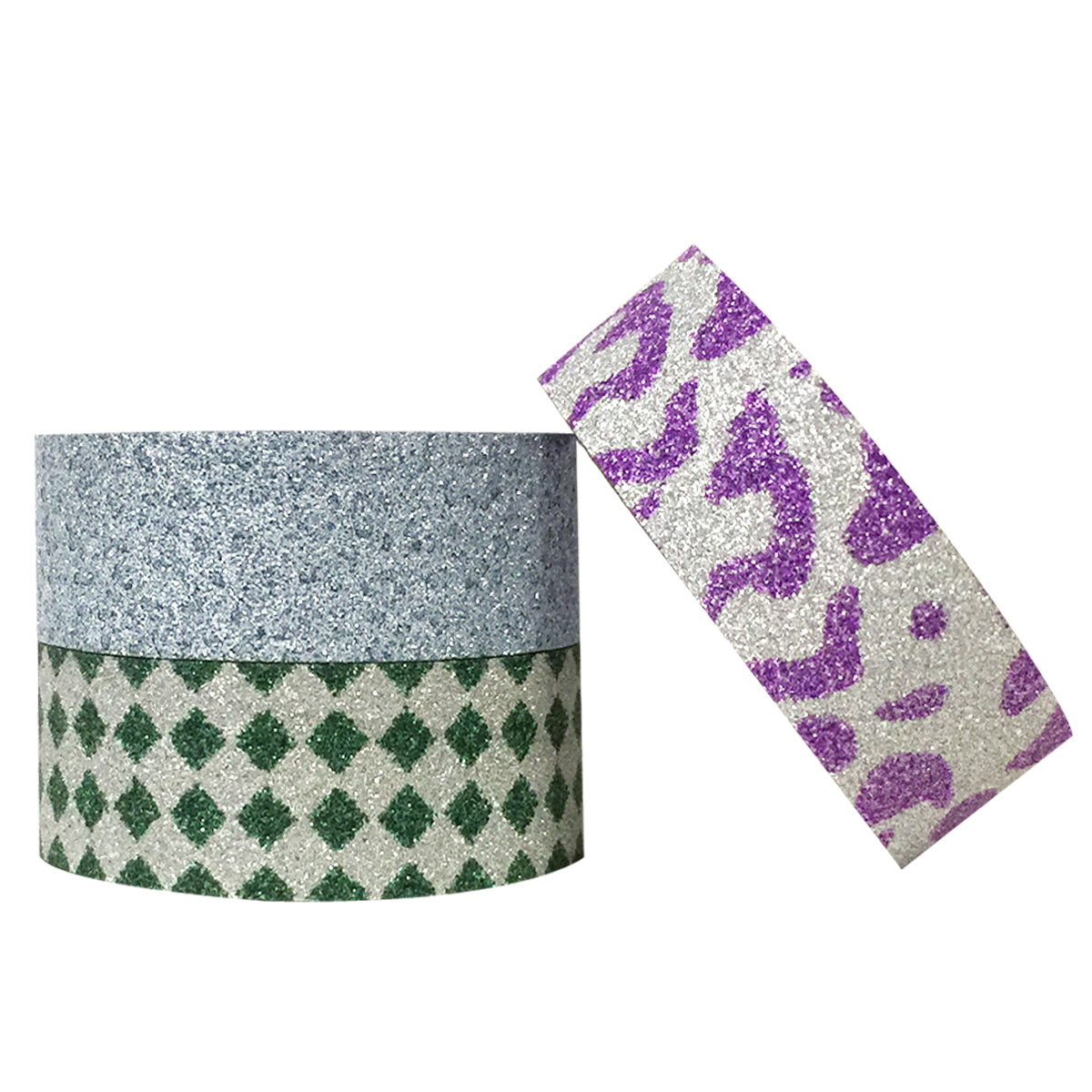 Wrapables Leopards and Emeralds Washi Masking Tape (set of 3)