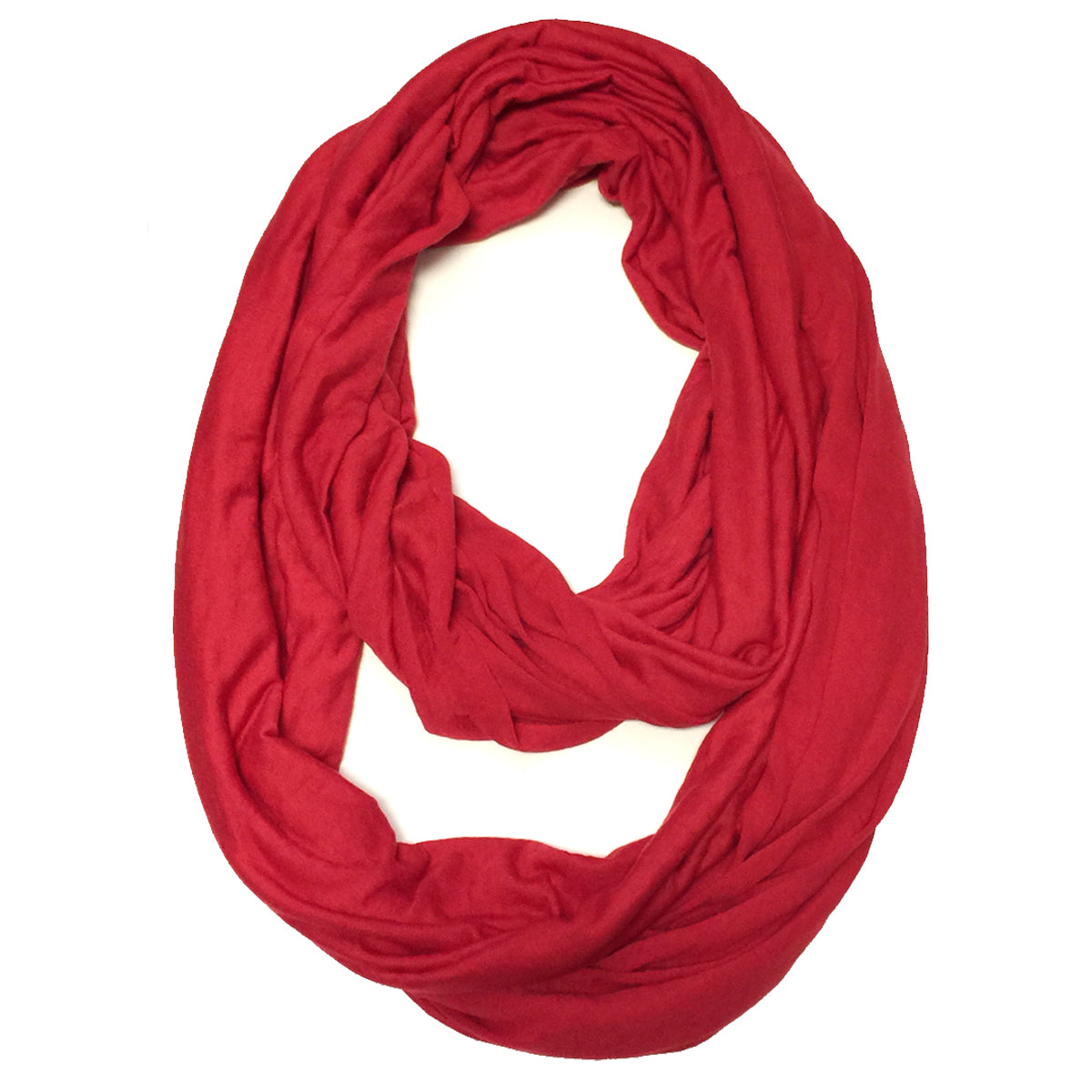 Wrapables Soft Jersey Knit Infinity Scarf