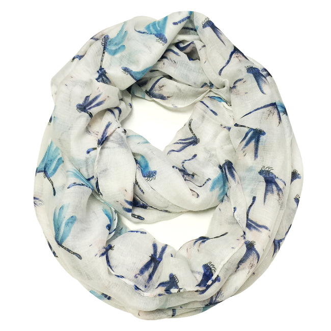 Wrapables Dragonfly Infinity Scarf