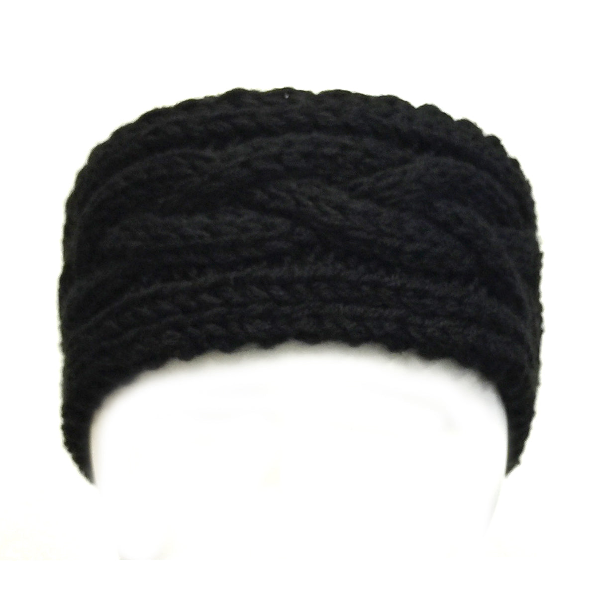 Wrapables Thick Cable Knit Headband for Teens and Girls