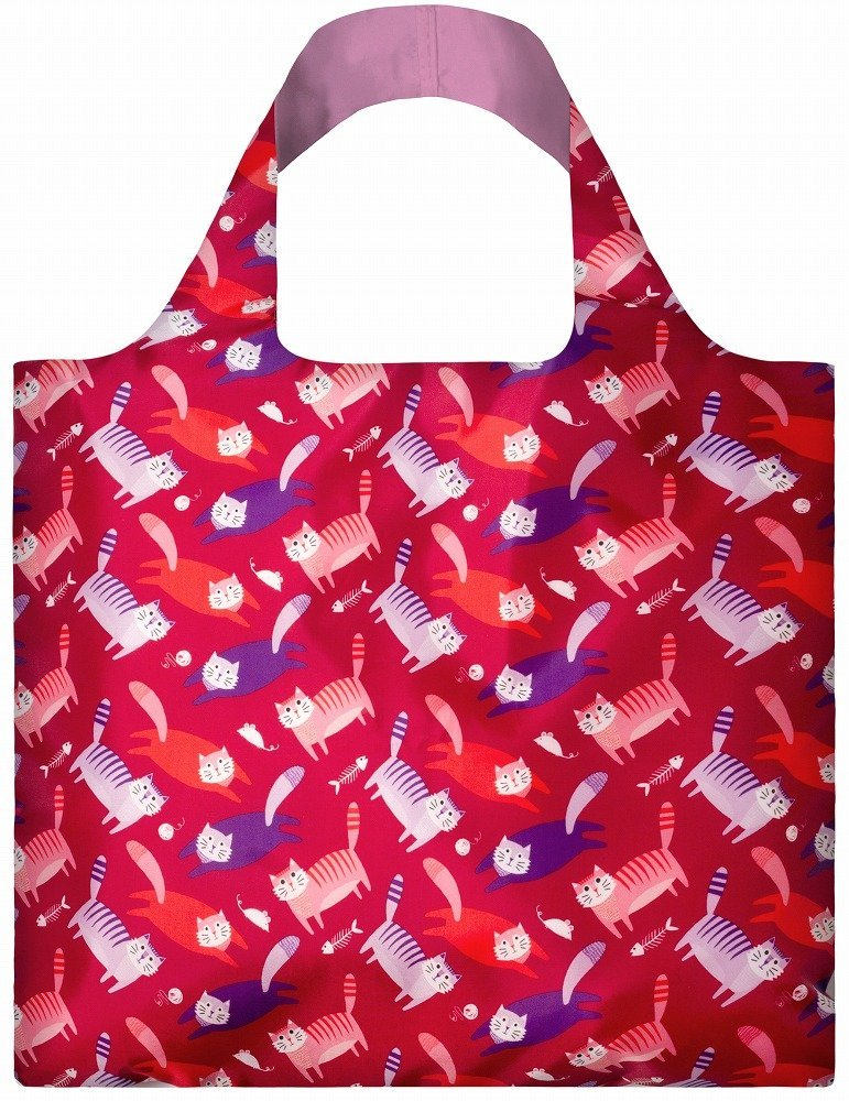 LOQI Artist Cats Reusable Shopping Bag