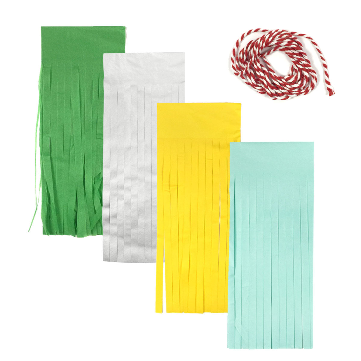 Wrapables Tissue Paper Tassels (Set of 12) Party Decorations