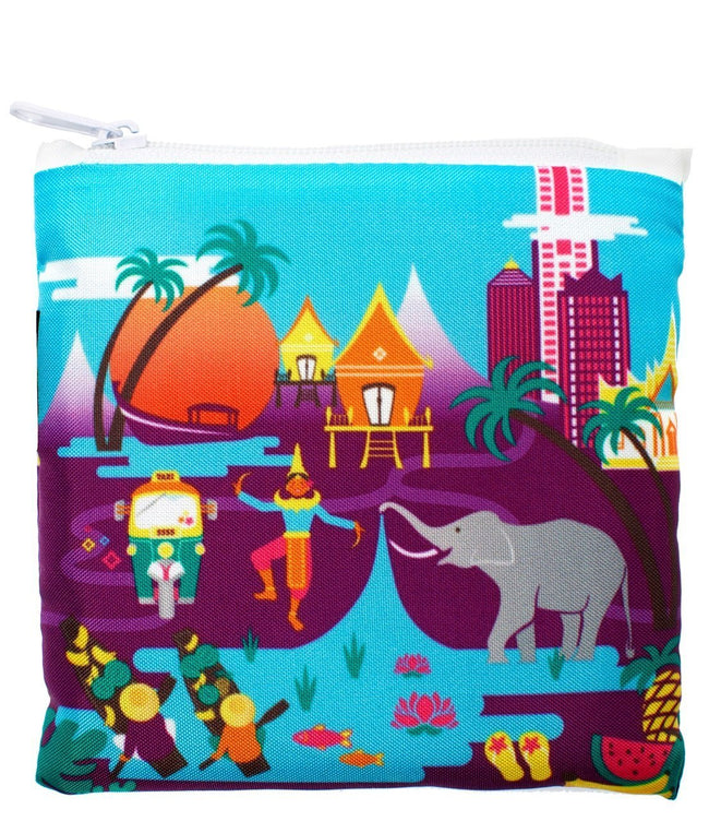 LOQI Urban Thailand Reusable Shopping Bag