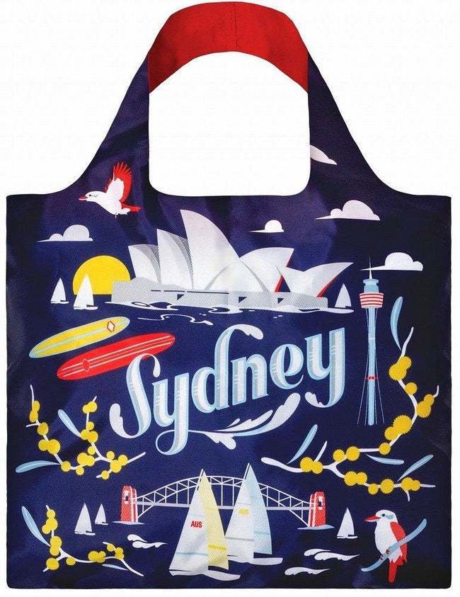 LOQI Urban Sydney Reusable Shopping Bag