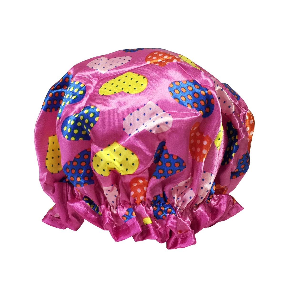 Wrapables Trendy Satin Shower Cap