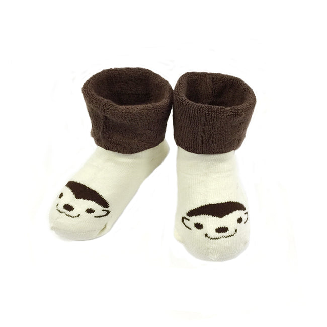 Wrapables Thick Animal Face Socks (Set of 4)