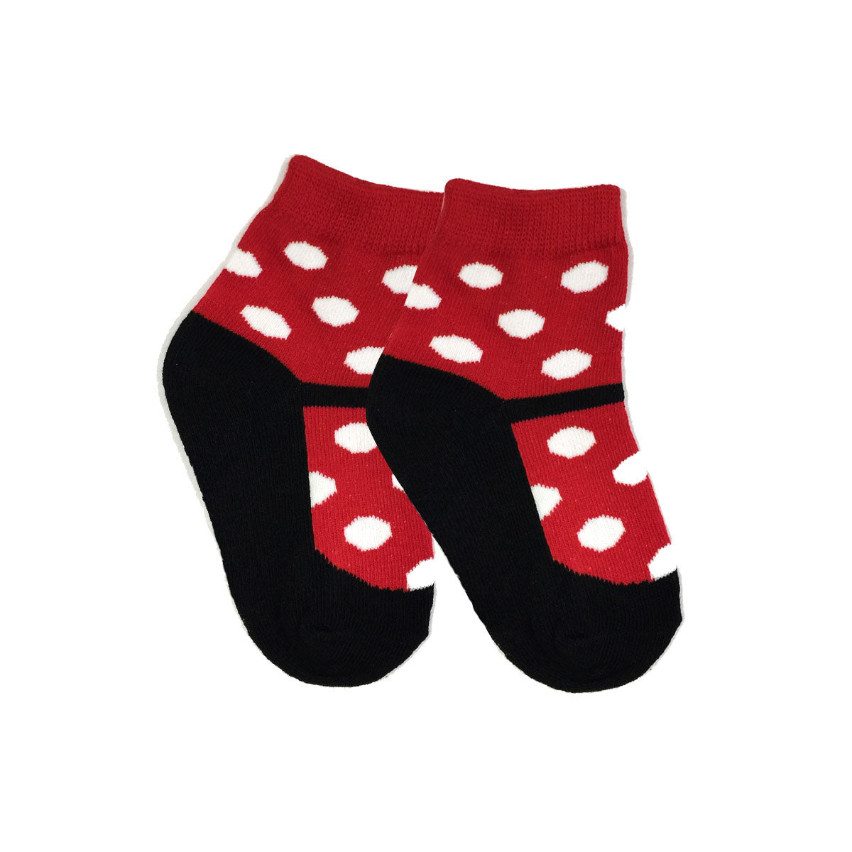 Wrapables Non-Slip Cute Mary Jane Socks for Baby (Set of 4)