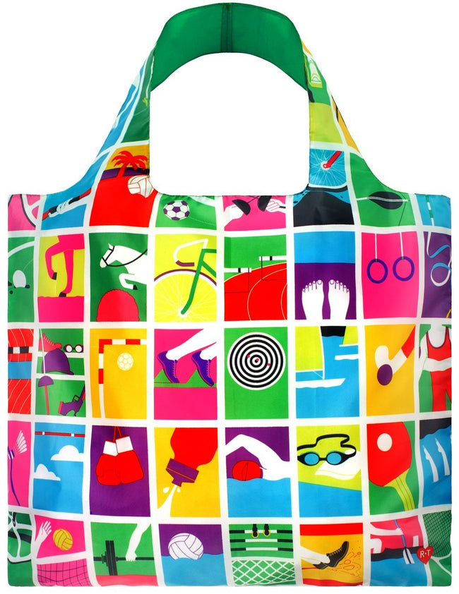 LOQI Artist Games Reusable Shopping Bag
