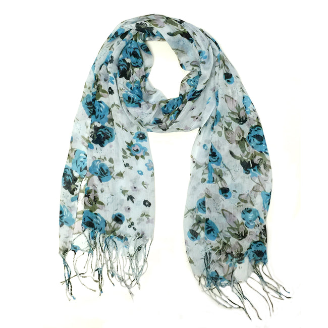 Wrapables Viscose Floral Print Scarf