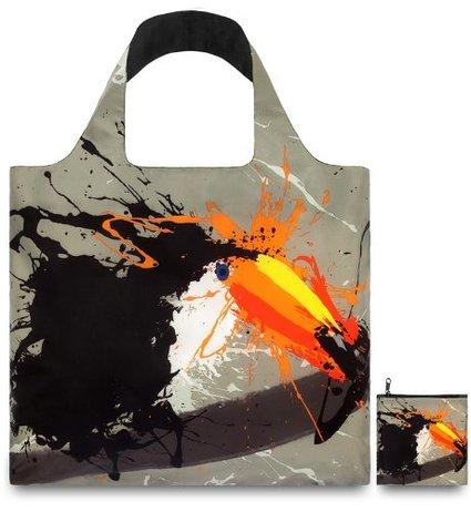 LOQI Anima Fish & Toucan Reusable Shopping Bag