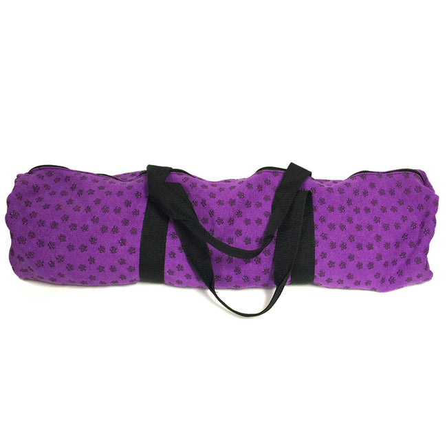 Wrapables Cotton Floral Yoga Mat Bag, Fits Most Mat Sizes