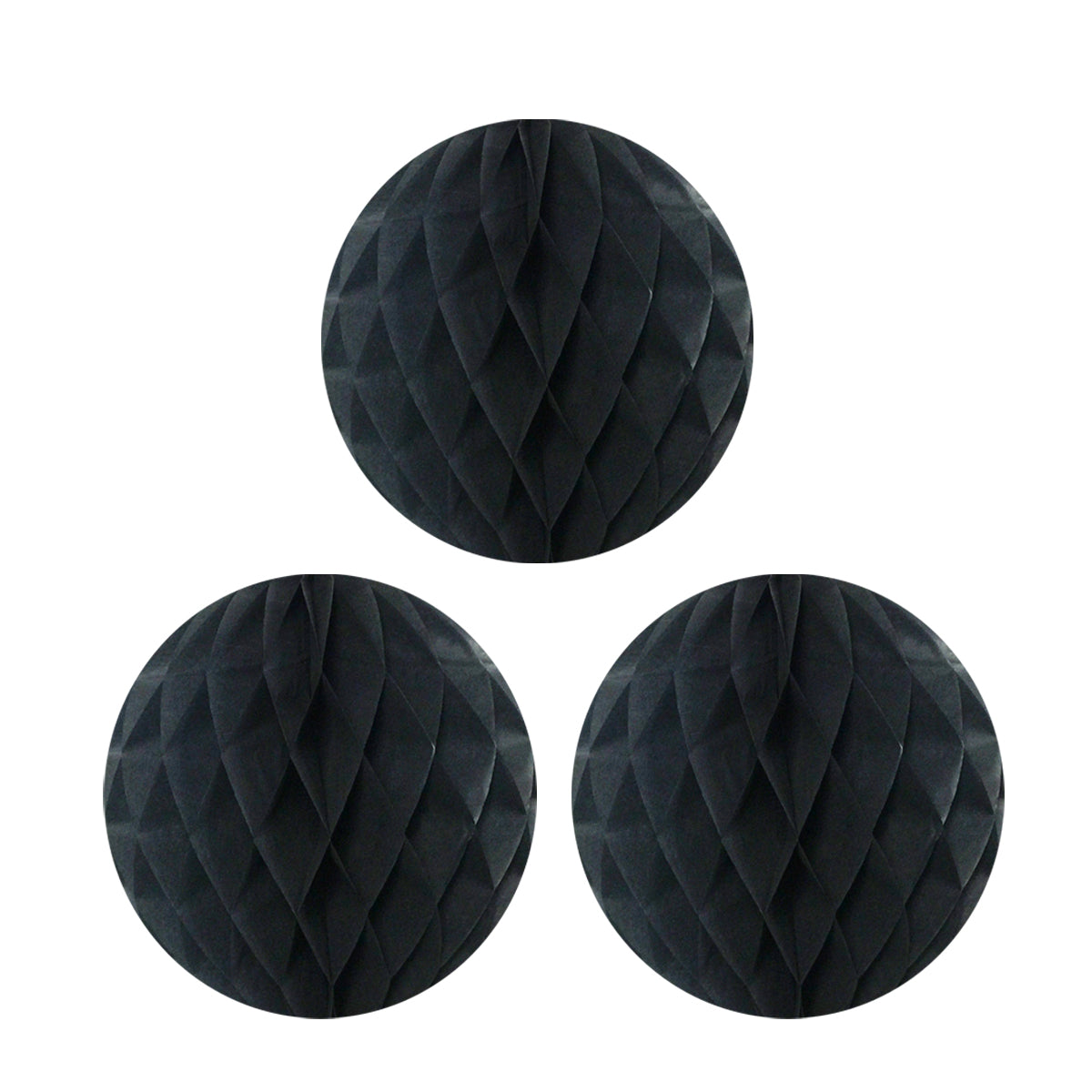 "Wrapables 10"" Set of 3 Tissue Honeycomb Ball Party Decorations"