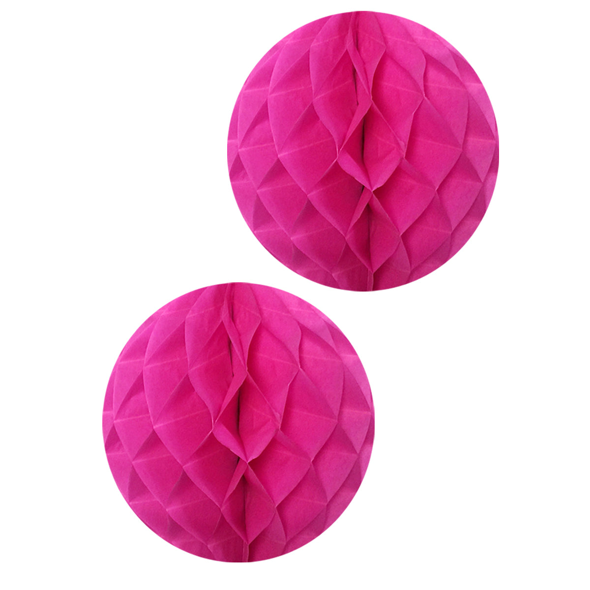 "Wrapables 16"" Set of 2 Tissue Honeycomb Ball Party Decorations"