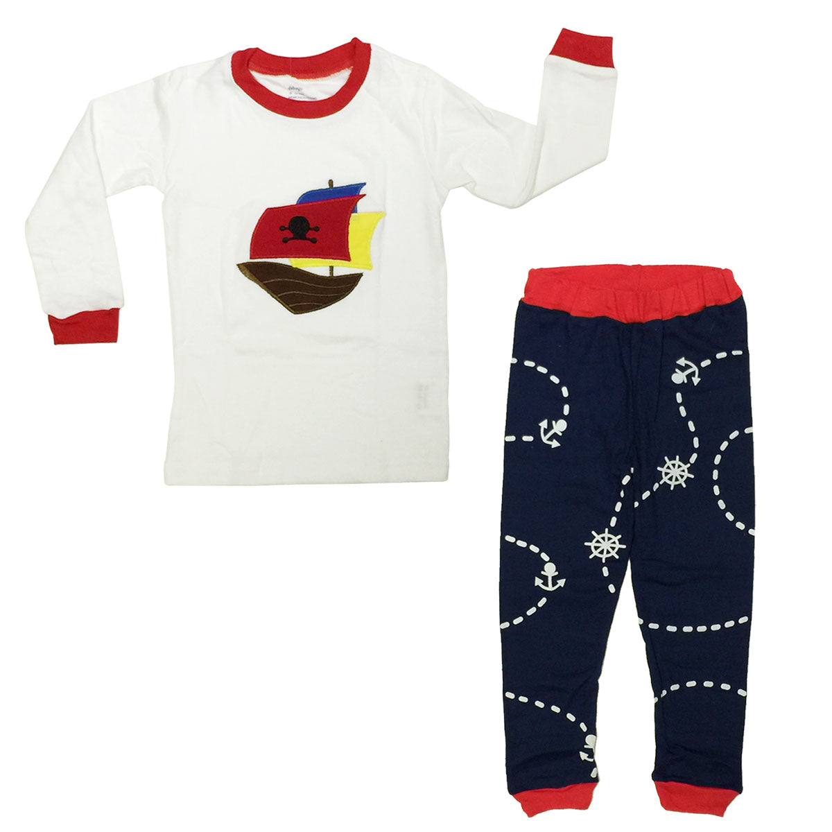 Dabuyu Pirate Children's Pajamas