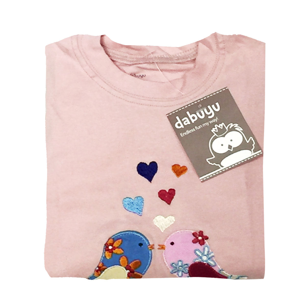 Dabuyu Love Birds Children's Pajamas