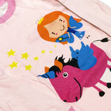 Dabuyu Unicorn & Fairy Children's Pajamas