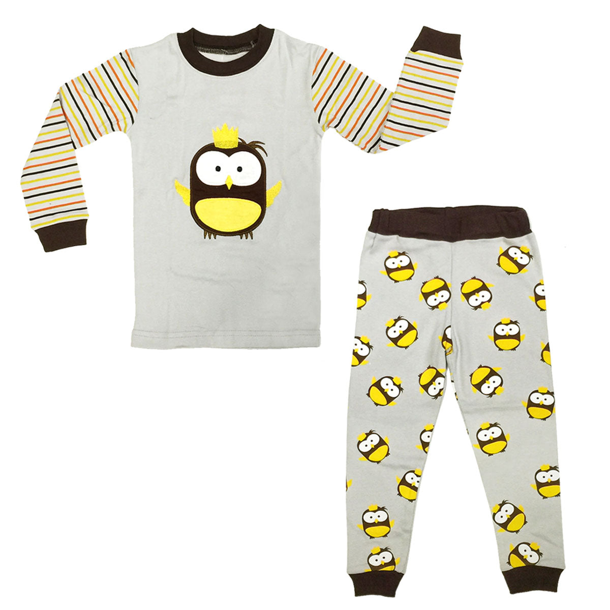 Dabuyu Owl Children's Pajamas