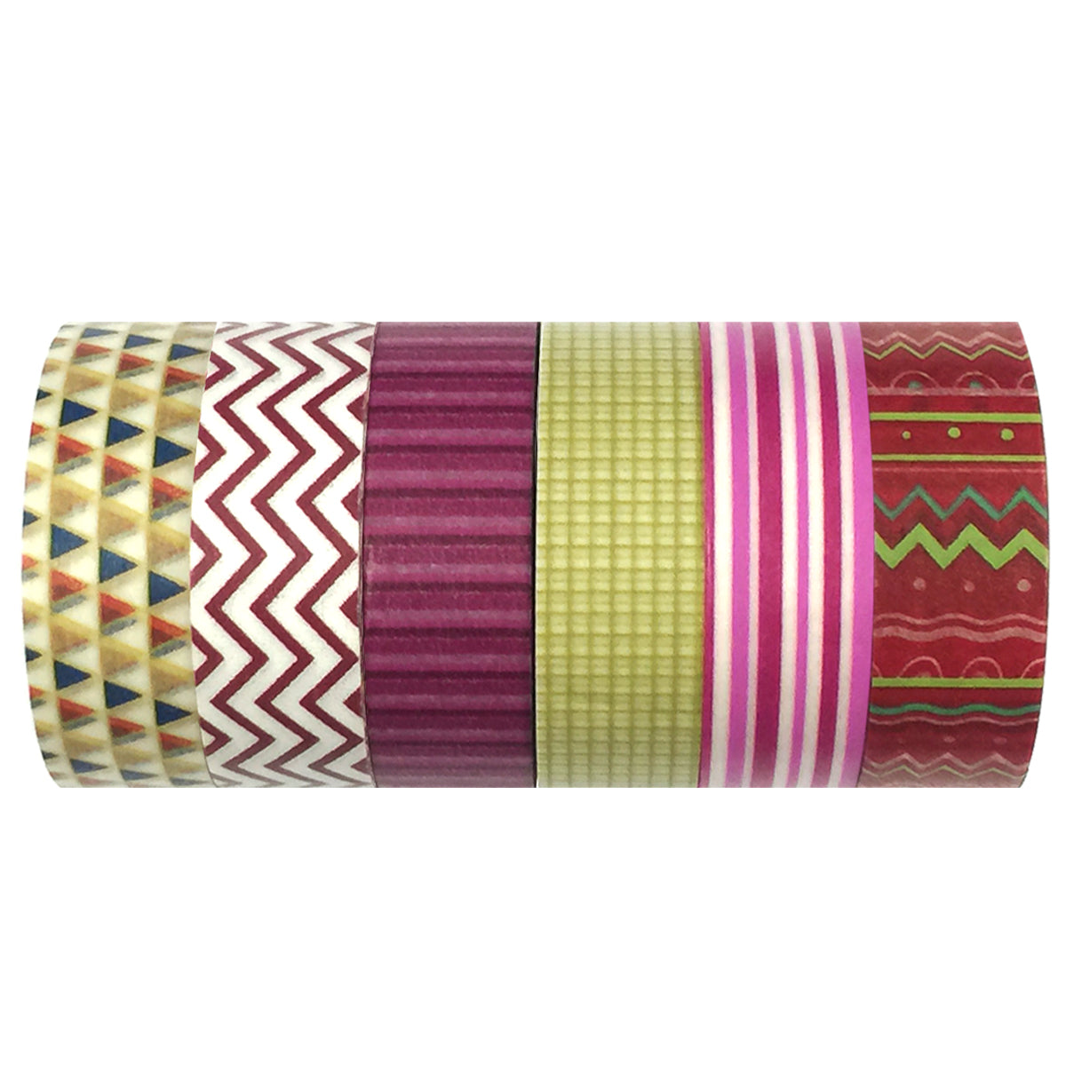 Wrapables Washi Masking Tape Collection, Premium Value Pack
