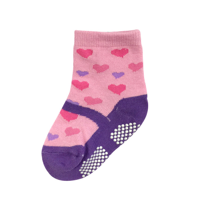 Wrapables Playful Sneakers and Sweet Mary Jane Non-Skid Socks (Set of 6), SET1