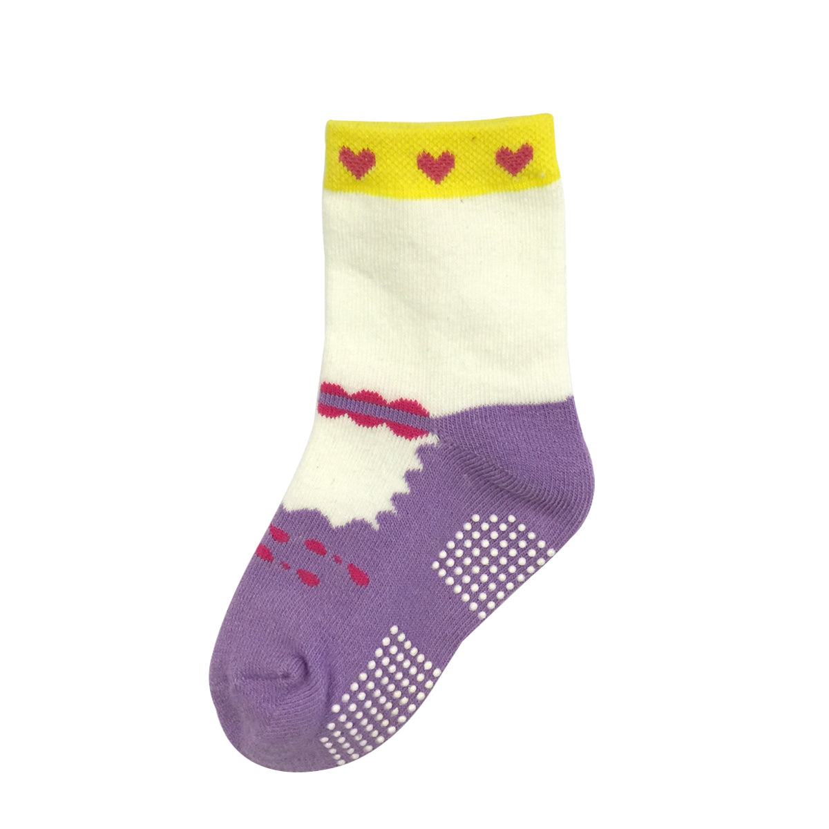 Wrapables Precious Mary Jane Non-Skid Socks (Set of 6), SET1