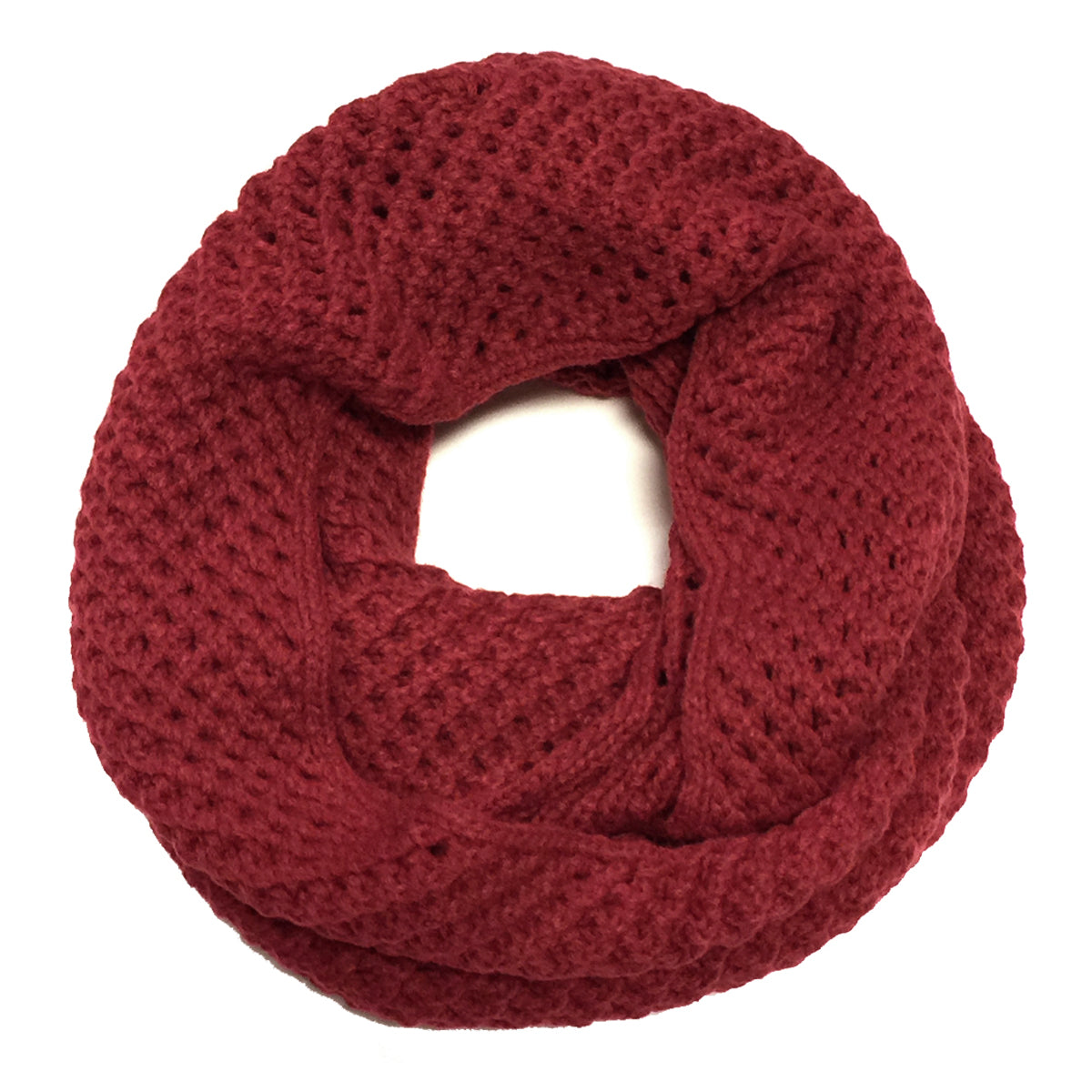 Wrapables Soft Knit Warm Infinity Scarf