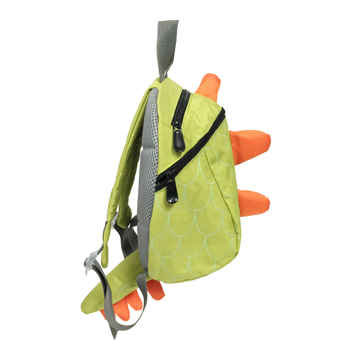 Wrapables Children's Dinosaur Backpack Schoolbag, Light Green