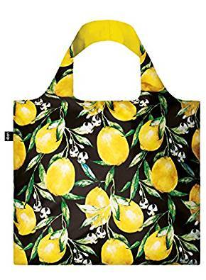 LOQI Juicy Lemons Reusable Shopping Bag
