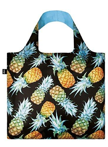 LOQI Juicy Pineapples Reusable Shopping Bag