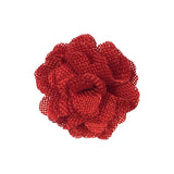 Wrapables Shabby Chic Burlap Rose Flower 2 Inch Diameter (Set of 20)