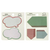 Wrapables Talking Bubble Memo Sticky Notes (Set of 2)