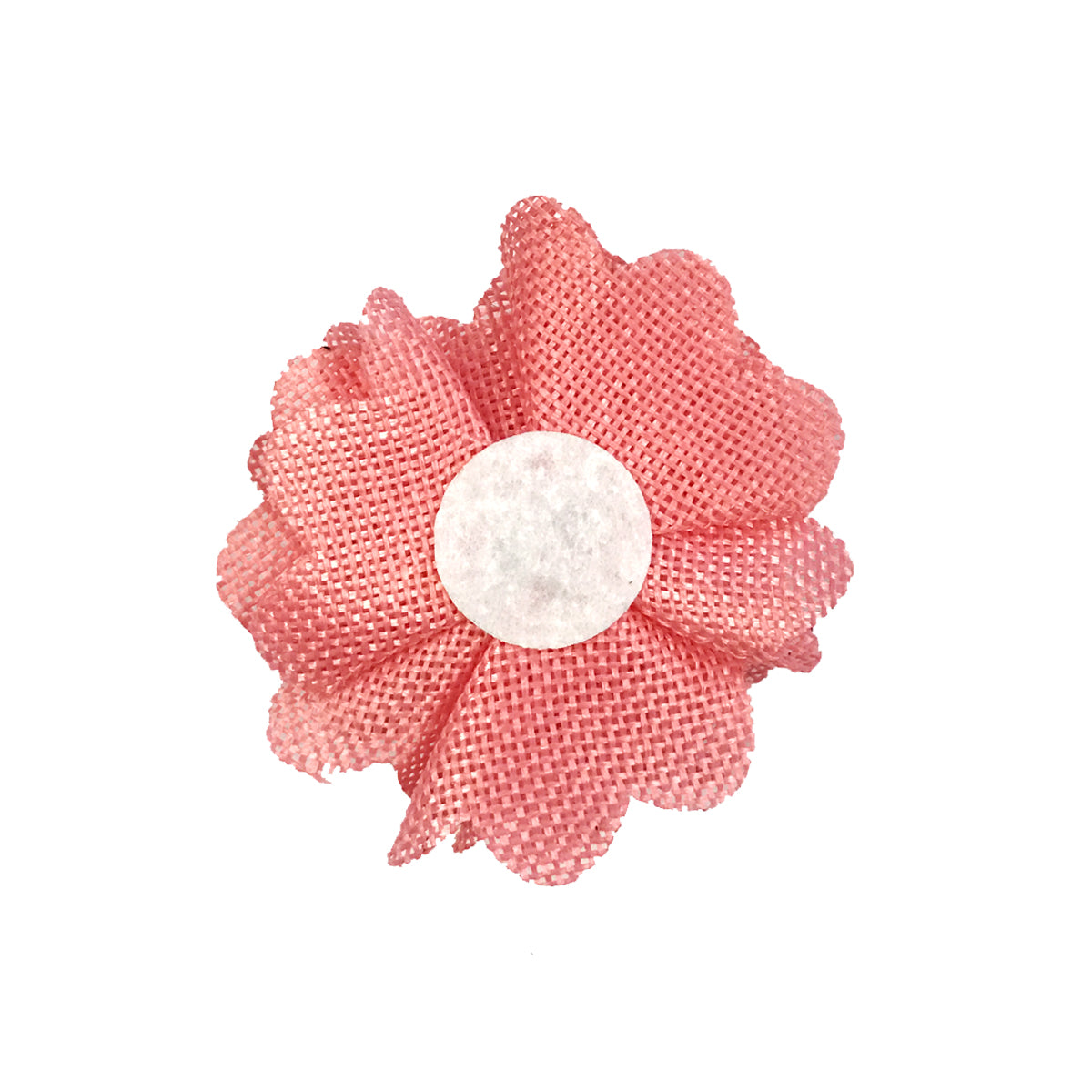 Wrapables Shabby Chic Burlap Rose Flower 3 Inch Diameter (Set of 12)