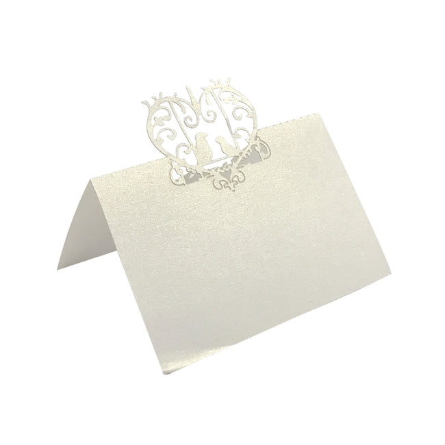 Wrapables? Love Birds Wedding Decor Table Name Place Cards (Set of 50)