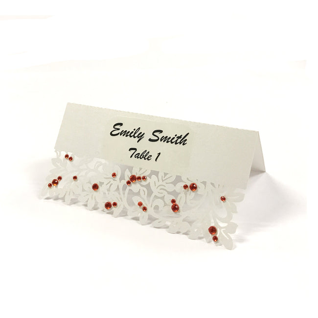 Wrapables? Vines Wedding Decor Table Name Place Cards (Set of 50)