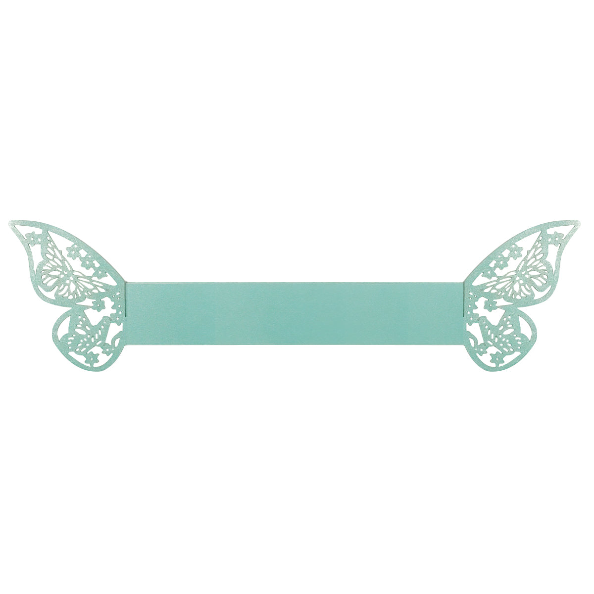 Wrapables Butterflies Wedding Decor Napkin Rings (Set of 50)