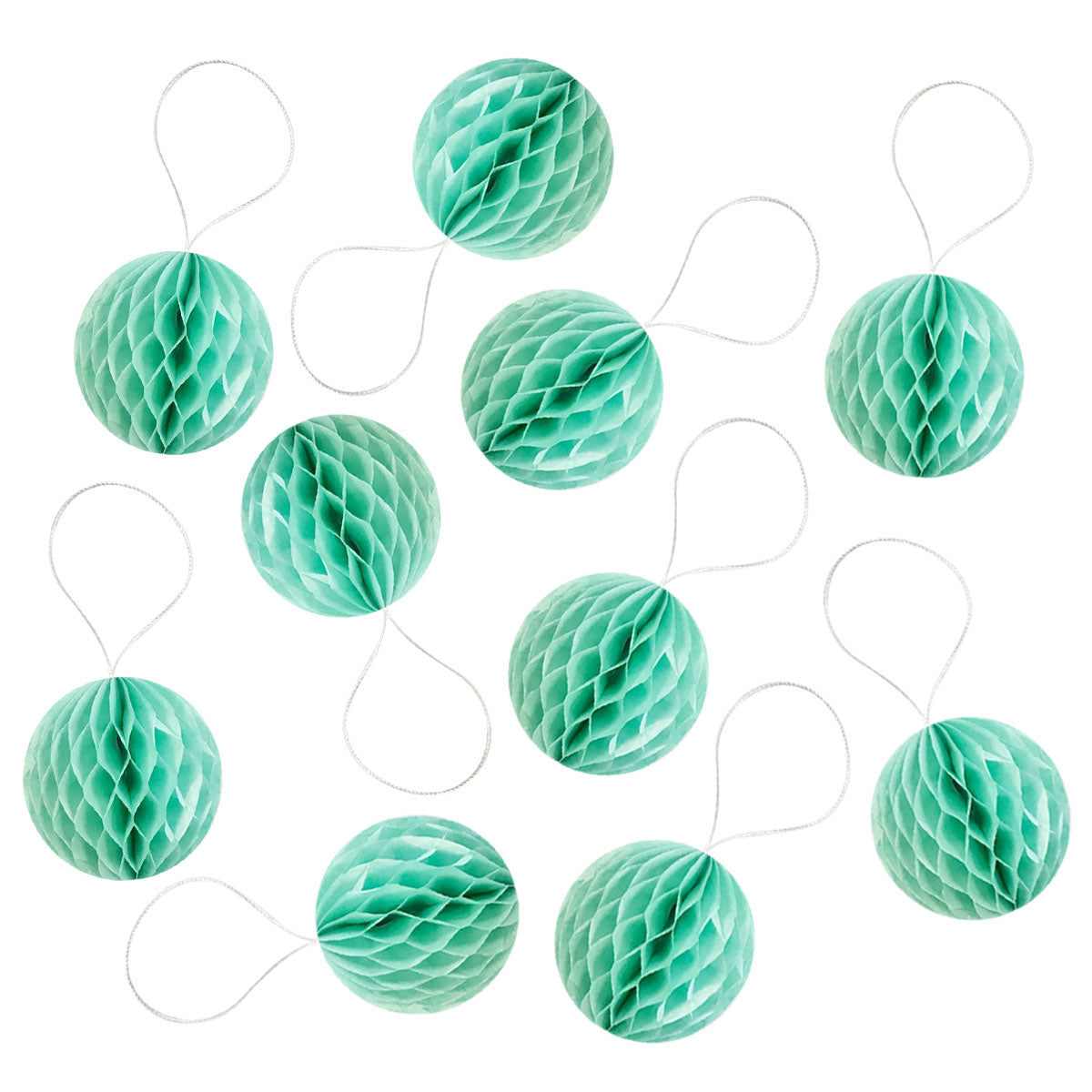 Wrapables Mini Honeycomb Ball Party Decorations (Set of 10), 2""
