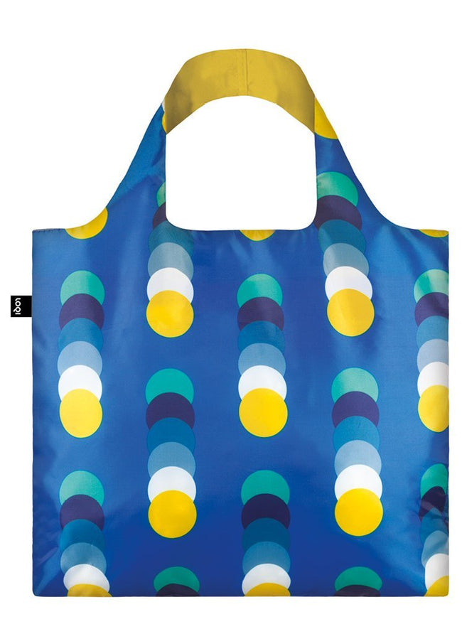 LOQI Geometric2 Circles Reusable Shopping Bag